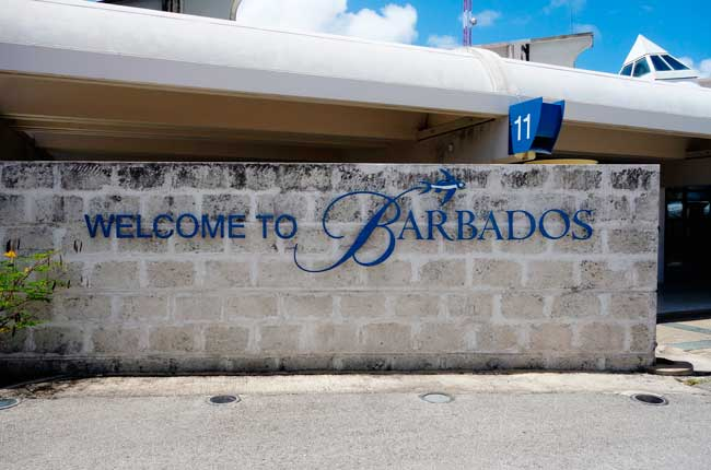 Bridgetown Airport is the main international gateway of Barbados.